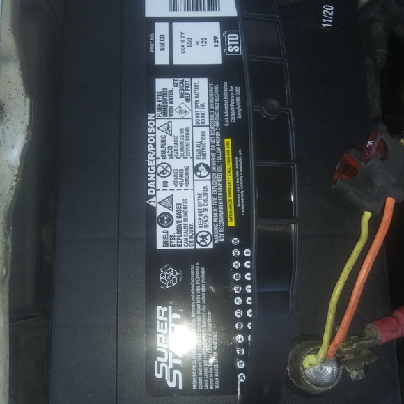 Truck battery.